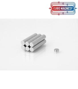 Neodymium disc magnet  6Ax2,5 thick N38