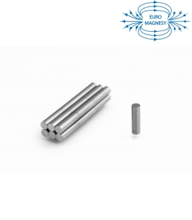 AlNiCo2 Rod magnet 5x18 LNG12