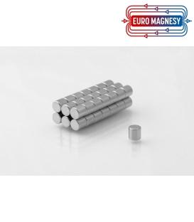 Neodymium disc magnet  4x5 thick N38
