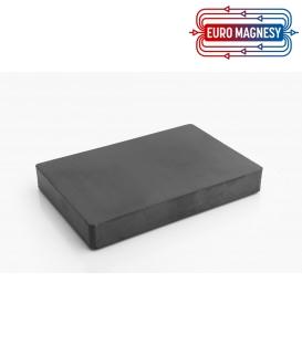 Ferrite block magnet 150x100x20 thick Y30