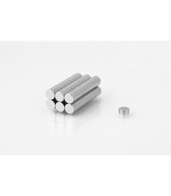 Neodymium disc magnet  6x2,5 thick N38