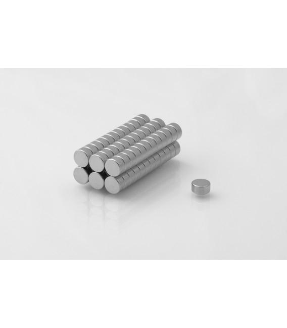Neodymium disc magnet  6x3 thick N38