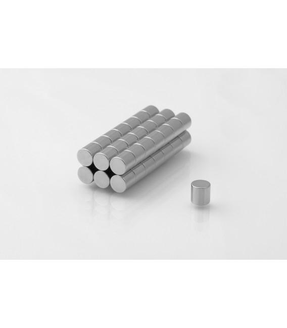 Neodymium disc magnet  6x6 thick N38