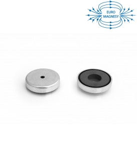 Ferrite pot magnet with cylindrical borehole 57x23x6,5x10,5