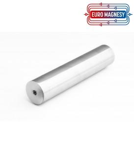 SWM 40x250 2xM10 / N wałek magnetyczny (wodoszczelny)
