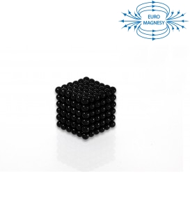 Neocube sphere magnet Ø 5 mm black