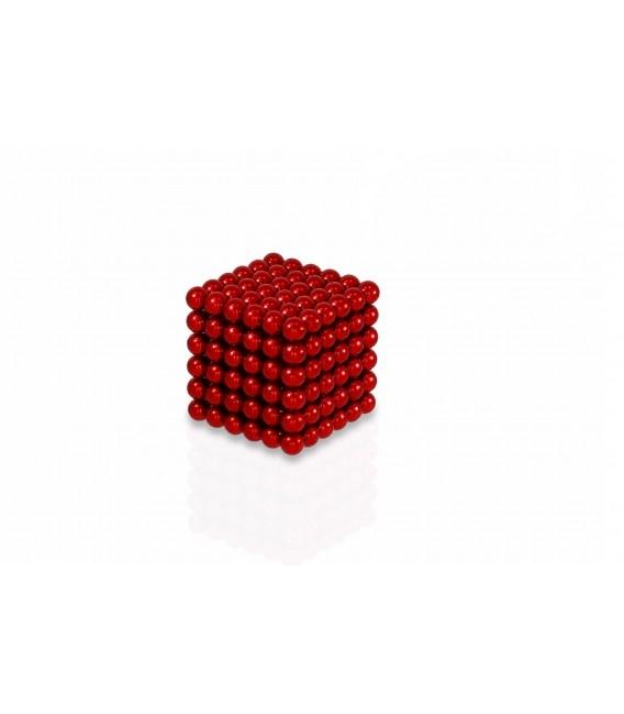 Neocube sphere magnet Ø 5 mm red