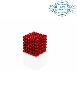 Neocube sphere magnet Ø 5 mm red