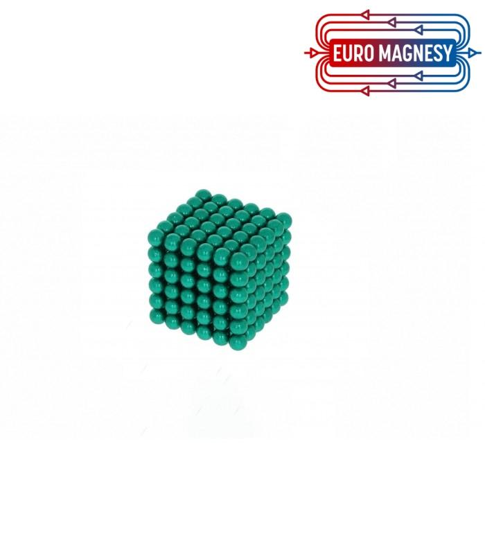 Neocube sphere magnet Ø 5 mm green