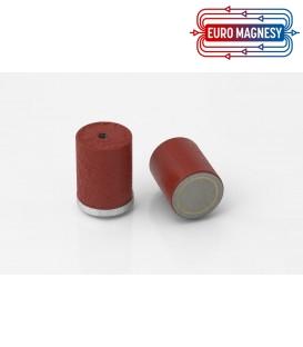 AlNiCo Pot magnet with internal thread 27x25,4xM6