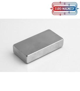 NEODYMIUM BLOCK MAGNET 100X50X20 THICK N45