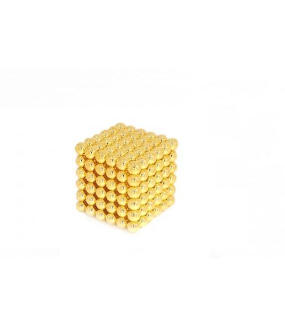 Neocube sphere magnet Ø 5 mm gold