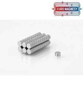 Neodymium disc magnet  4x2 thick N38