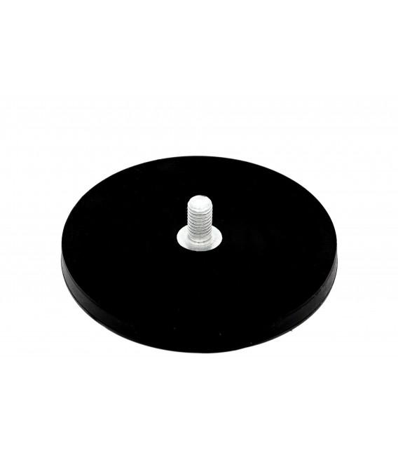 UM 88x8,5xM8 zewn. x23,5 Uchwyt magnetyczny w obudowie gumowej