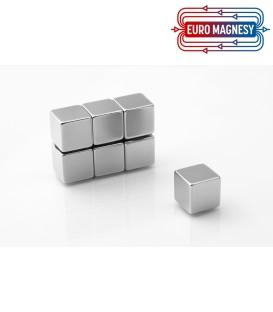 Neodymium block magnet  15x15x15 thick N38