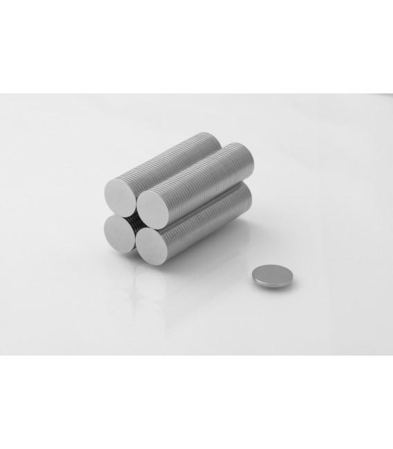 Neodymium disc magnet 12x1 thick N38