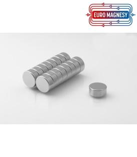Neodymium disc magnet 14Ax6 thick N35H