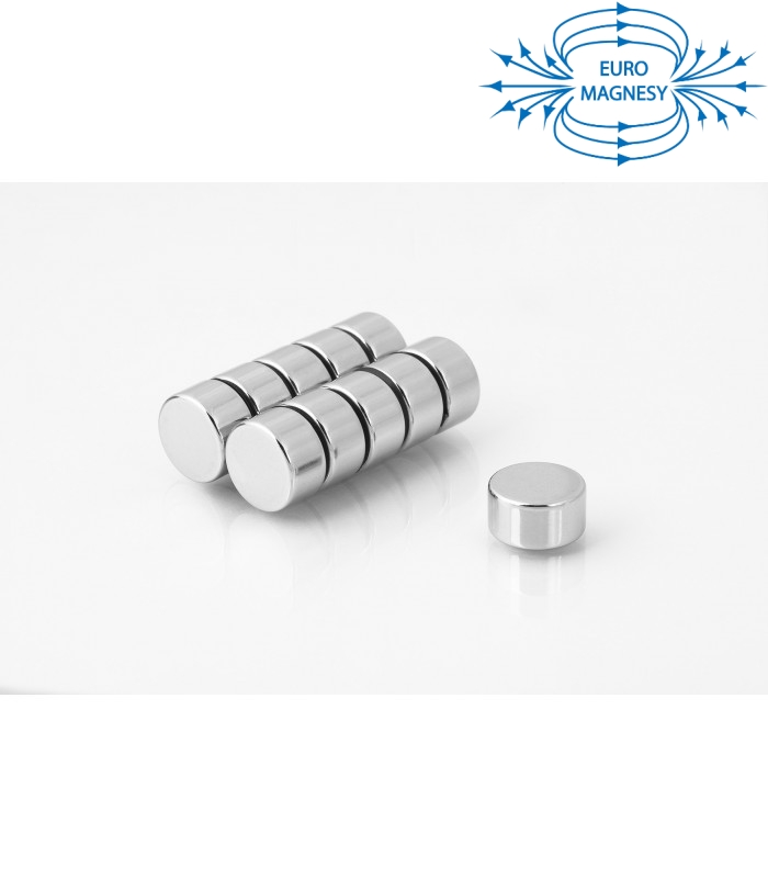 Neodymium disc magnet 15x8 thick N38