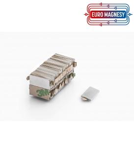 MPL 20x10x2 N38 z klejem 3M Magnes neodymowy