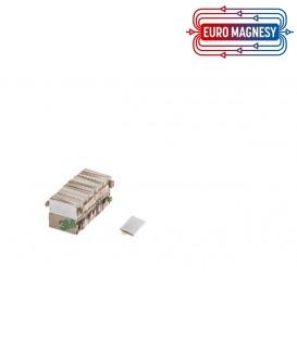MPL 10x5x1  N38 z klejem 3M Magnes neodymowy