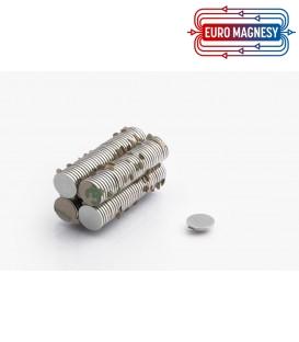 MW 12x1 N38 z klejem 3M Magnes neodymowy