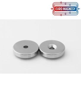 Scheibenmagnet mit Loch und Senkung 30x(8,5x4,5)x5 NdFeB N38