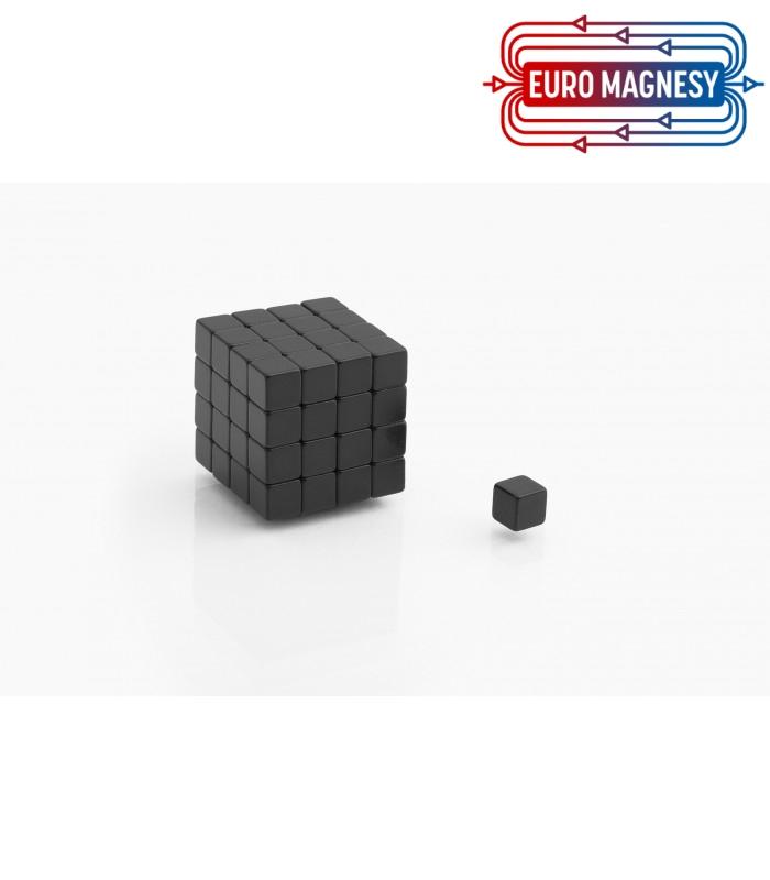 Neodymium block magnet 5x5x5 thick N38