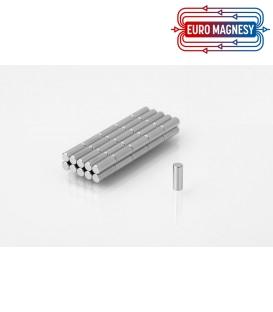 Neodymium disc magnet  3x8 thick N38H