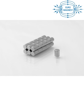 Neodymium disc magnet  4x7 thick N38