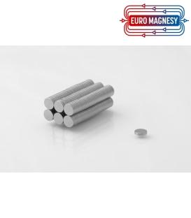 Neodymium disc magnet  6x1,5 thick N38