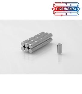 Neodymium disc magnet  4x10 thick N38