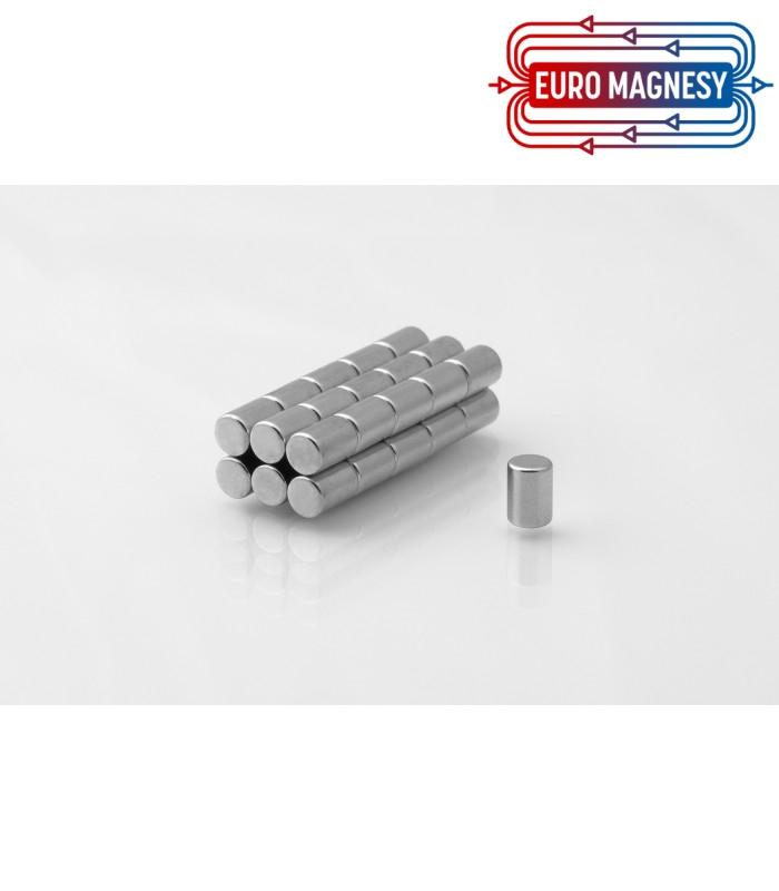 Neodymium disc magnet  4x8 thick N38