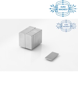 MPL 20x10x0,5 N38 Magnes neodymowy