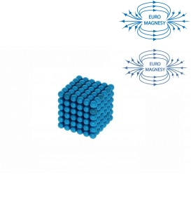 Neocube sphere magnet Ø 5 mm light blue