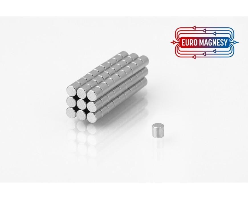 Neodym (NdFeB) Magnete Zylinder klein (ø 2 - ø10 mm)