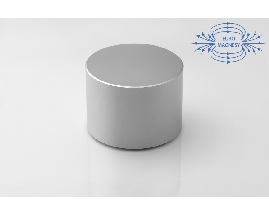Neodym (NdFeB) Magnete Zylinder gross (ø 30 - 70 mm)