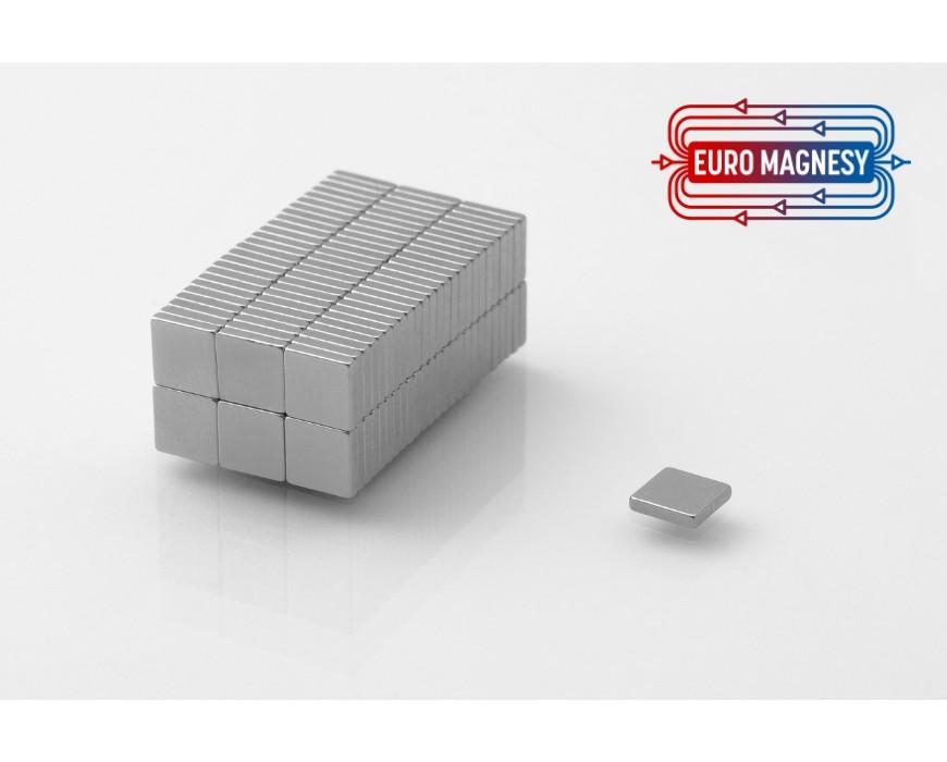 Neodym (NdFeB) Magnete Quader klein ( 3 - 10 mm)