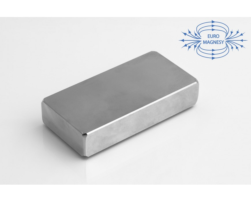 NdFeB (Neodymium)  block magnets, large  (40 mm - 100 mm)