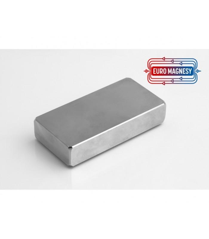 NdFeB (Neodymium)  block magnets, large  (40 mm - 100 mm)