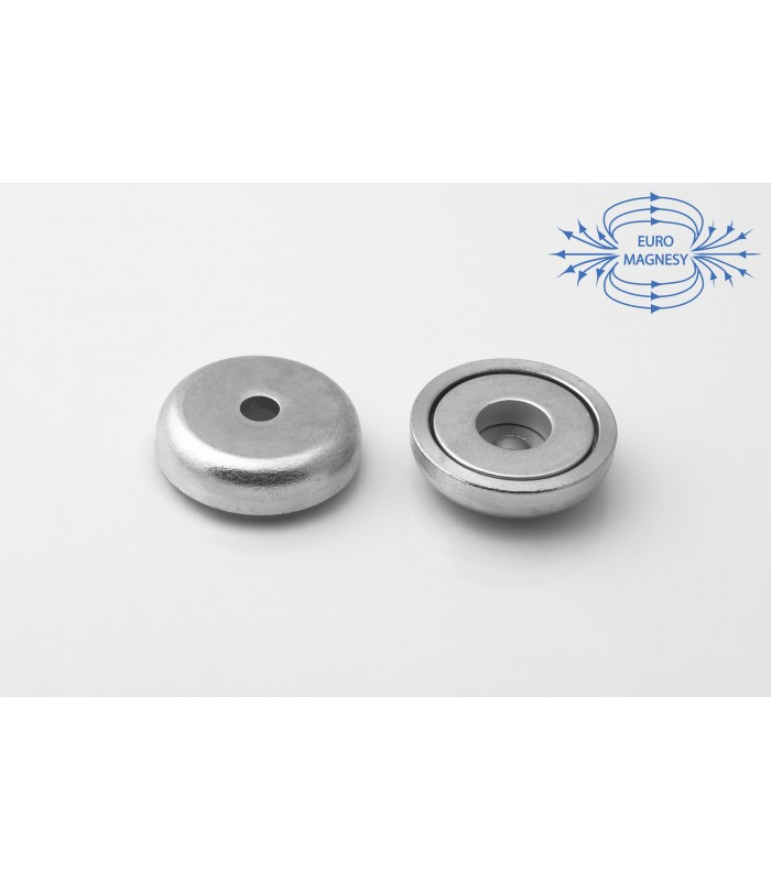 NdFeB Holding magnets with counter bore hole