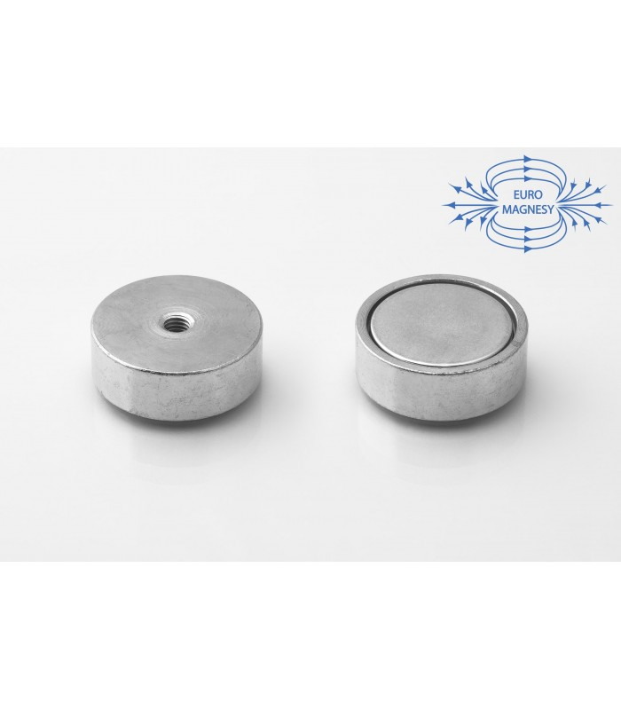 NdFeB Holding magnets with internal thread