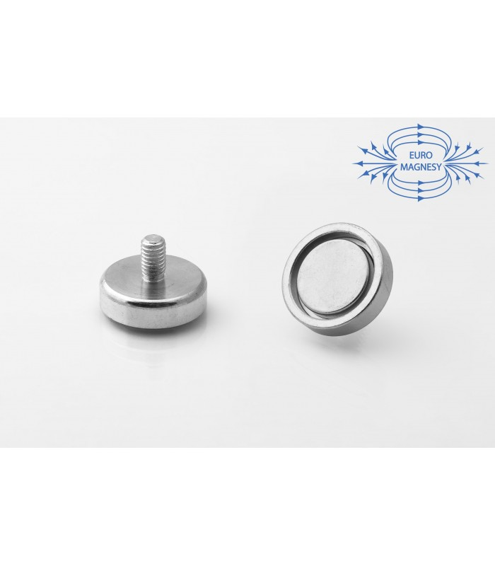 NdFeB Holding magnets with outer threads