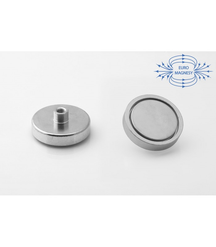 NdFeB Holding magnets with threaded bush