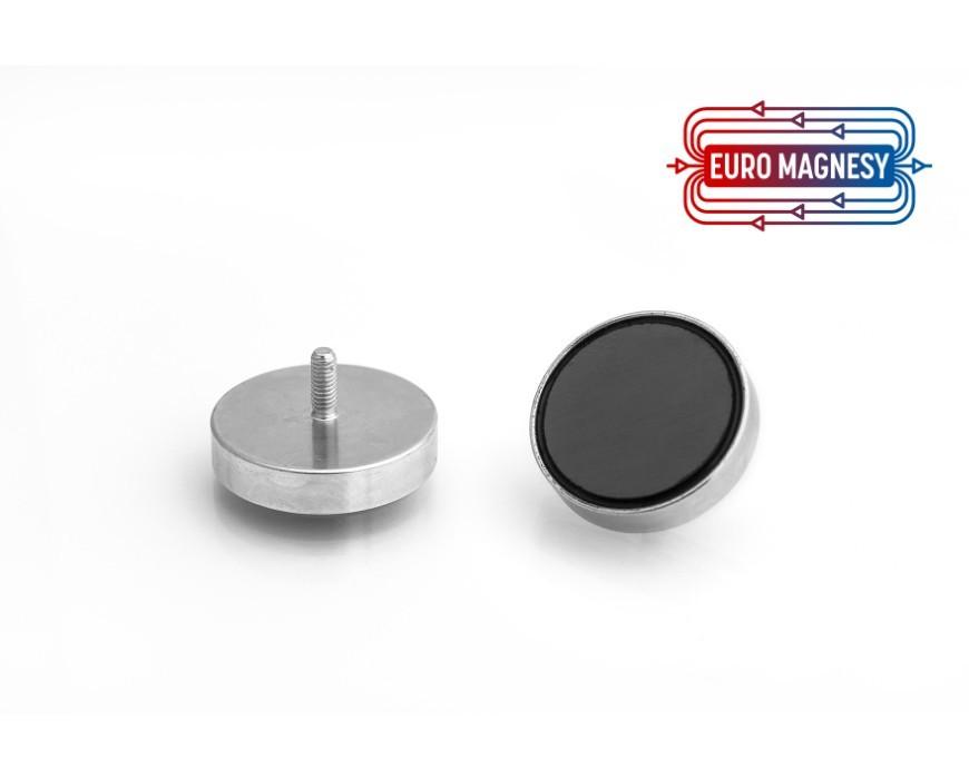 Uchwyty magnetyczne z gwintem zewnętrznym