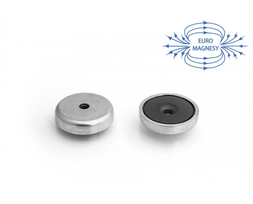 Ferrit Topf-Haftmagnete mit Bohrung und kegelförmiger Senkung